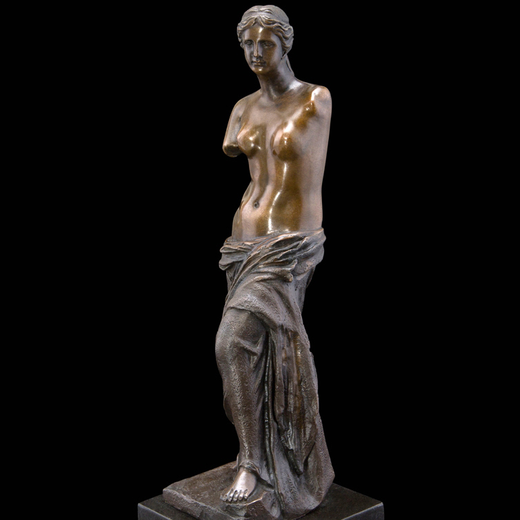 Classical bronze Venus statue for indoor decoration